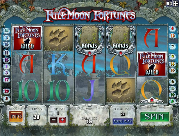 full moon fortunes автомат